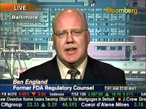 Ben England on Bloomberg